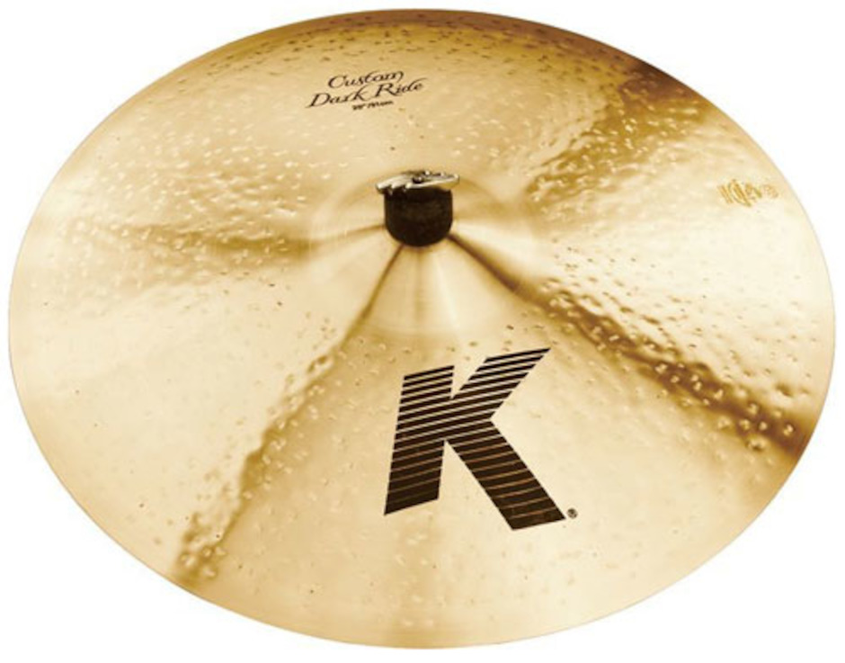 "Image of   Zildjian 20"" K Custom Dark Ridebækken"