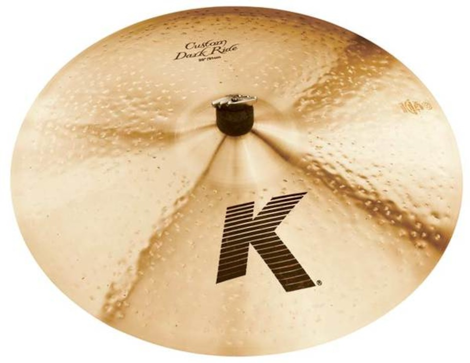 "Image of   Zildjian 22"" K Custom Dark Ridebækken"