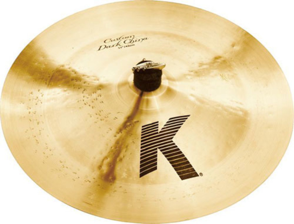 "Zildjian 17"" K Custom Dark Chinabækken"