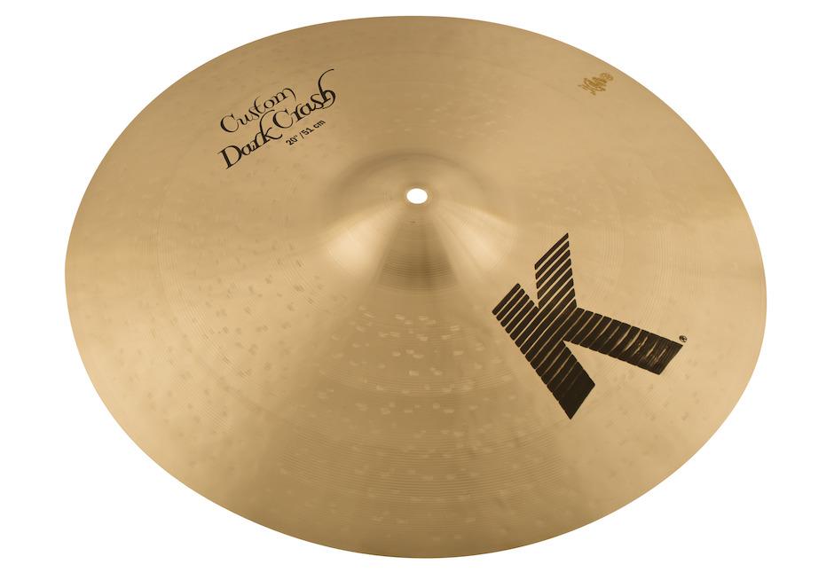 """Zildjian 20"""" K Custom Dark Crashbækken"""