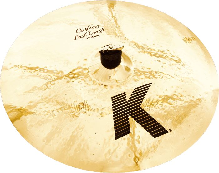 "Zildjian 17"" K Custom Fast Crashbækken"