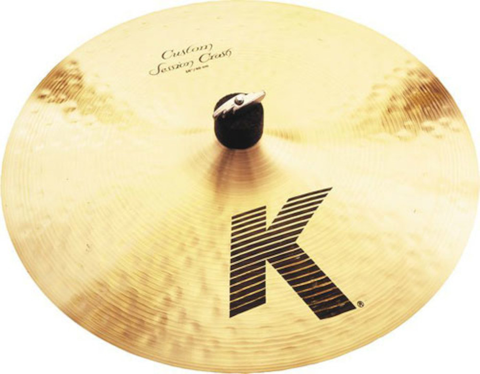 "Image of   Zildjian 16"" K Custom Session Crashbækken"