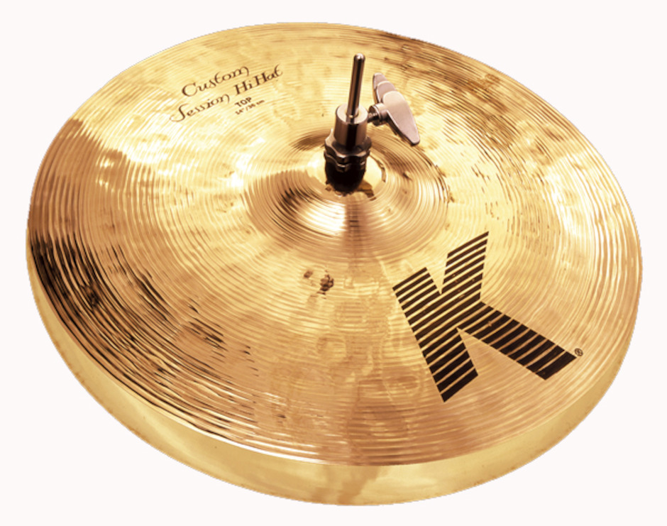 "Zildjian 14"" K Custom Session Hihatbækken"