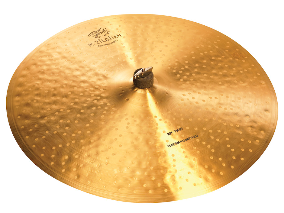 "Zildjian 22"" K Constantinople Thin Over Hammered Ridebækken"