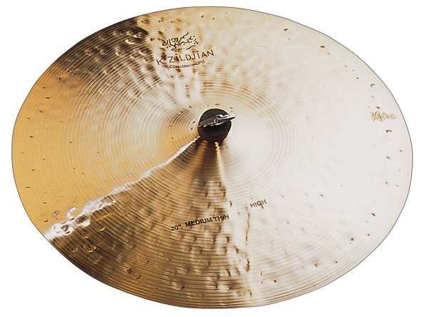 "Zildjian 20"" K Constantinople Medium Thin High Ridebækken"