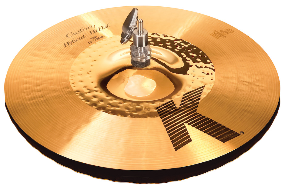 "Image of   Zildjian 13-1/4"" K Custom Hybrid Hi-hat"