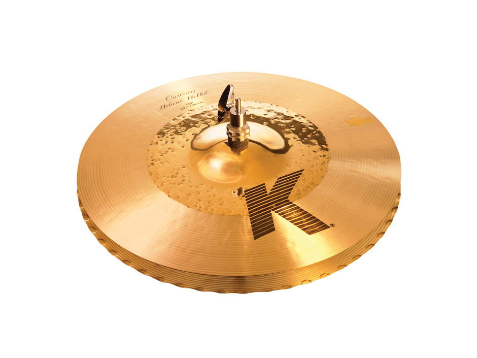 "Image of   Zildjian 14-1/4"" K Custom Hybrid Hihatbækken"
