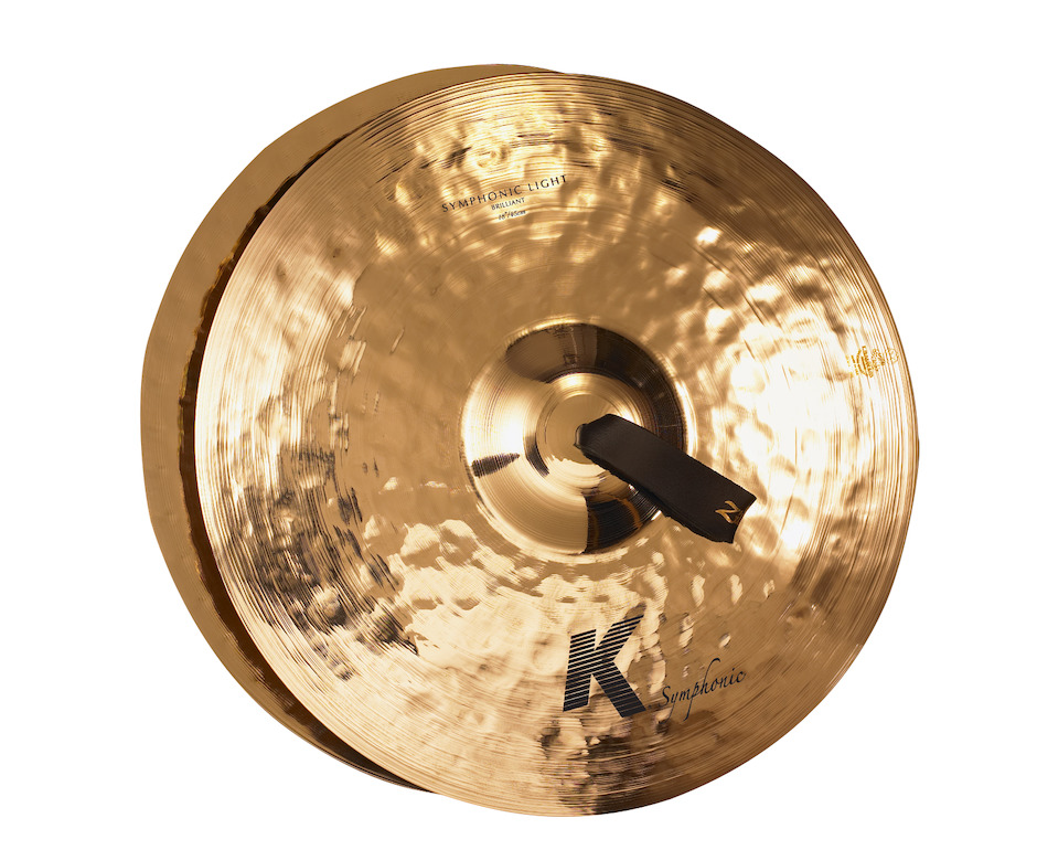 "Zildjian 18"" K Symphonic Light (Brilliant) Pair Orkesterbækkener"
