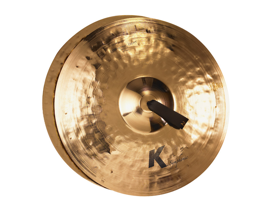 "Zildjian 20"" K Symphonic Light (Brilliant) Pair Orkesterbækkener"