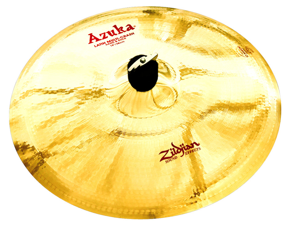 "Zildjian 15"" Azuka Multi Crash Hand & Stick"