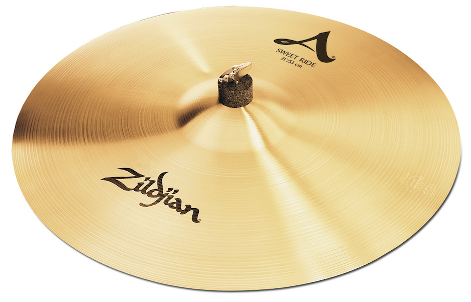 "Zildjian 21"" A Sweet Ride - Brilliant Ridebækken"