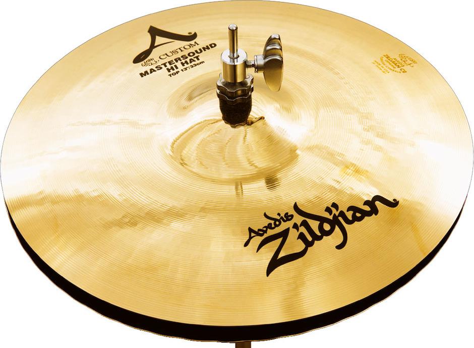 "Image of   Zildjian 13"" A Custom Master Sound Hi-hat"