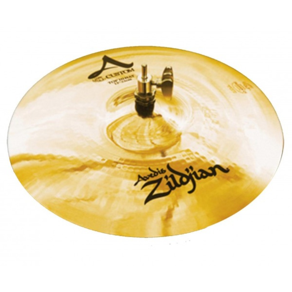 "Image of   Zildjian 13"" A Custom Hi-hat"