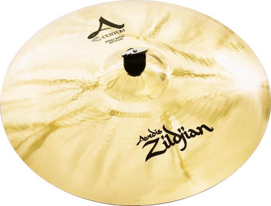 """Image of   Zildjian 20"""" A Custom Ping Ridebækken"""