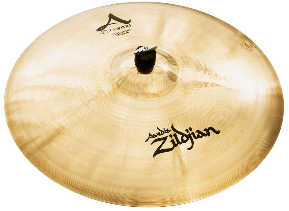 """Zildjian 22"""" A Custom Ping Ridebækken"""