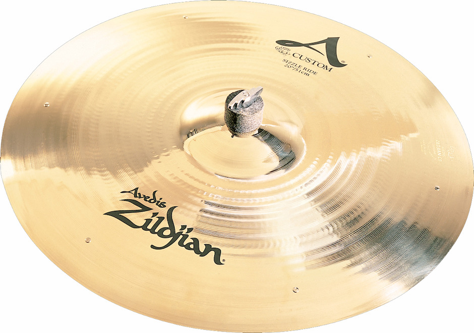 "Image of   Zildjian 20"" A Custom Sizzle Ridebækken"