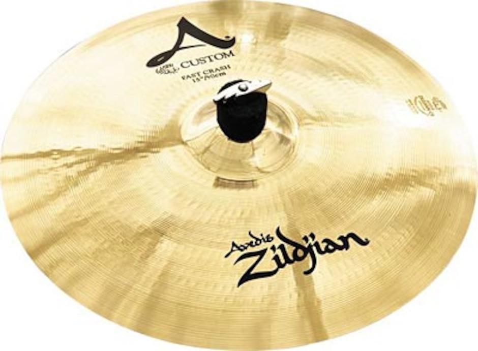 """Image of   Zildjian 16"""" A Custom Fast Crashbækken"""