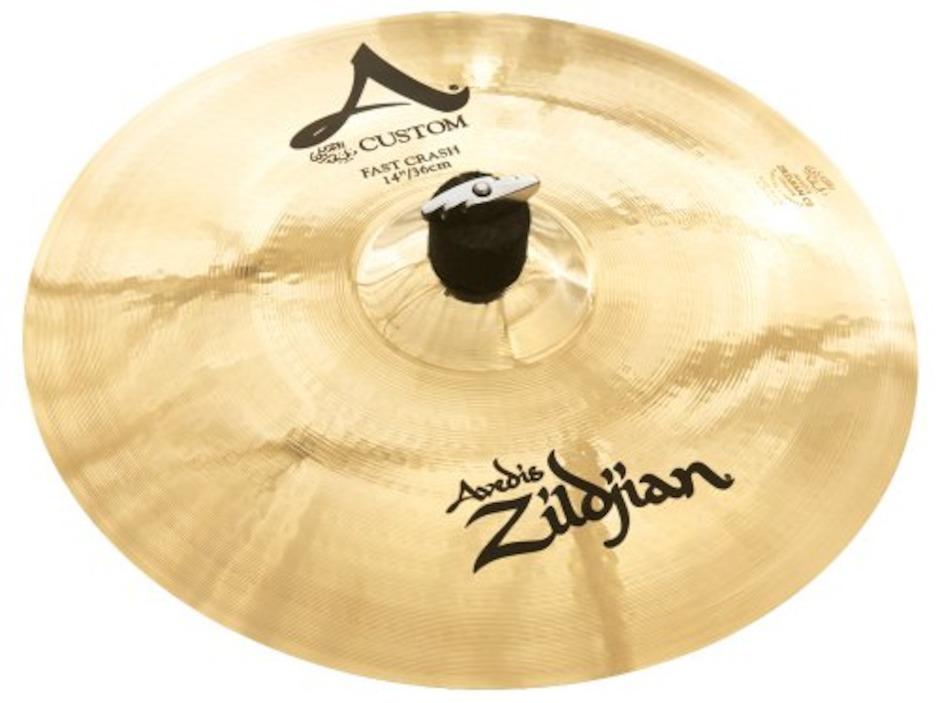 "Image of   Zildjian 14"" A Custom Fast Crash"