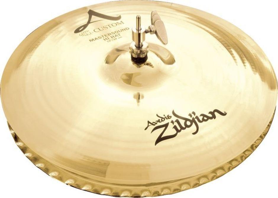 """Image of   Zildjian 14"""" A Custom Master Sound Hihatbækken"""
