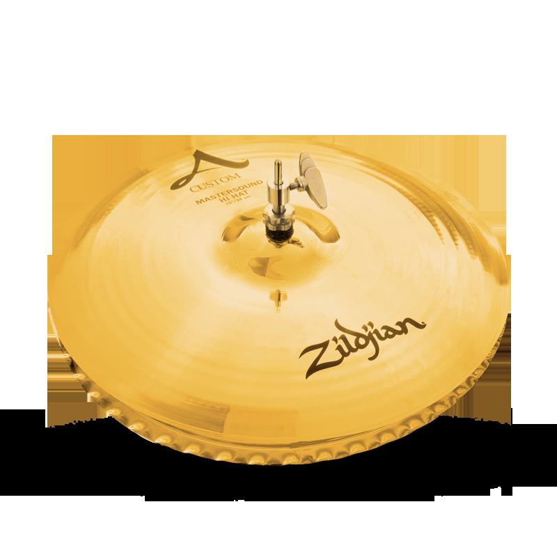 """Image of   Zildjian 15"""" A Custom Master Sound Hihatbækken"""