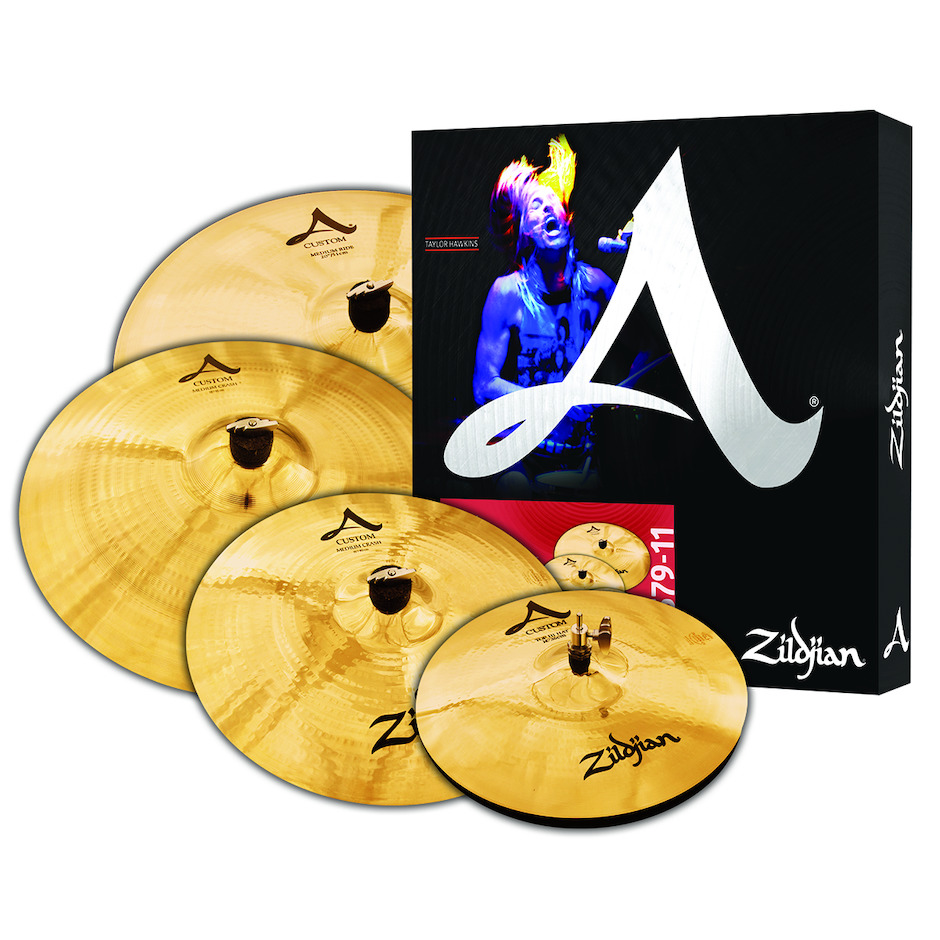 Image of   Zildjian A Custom Cymbal Pack