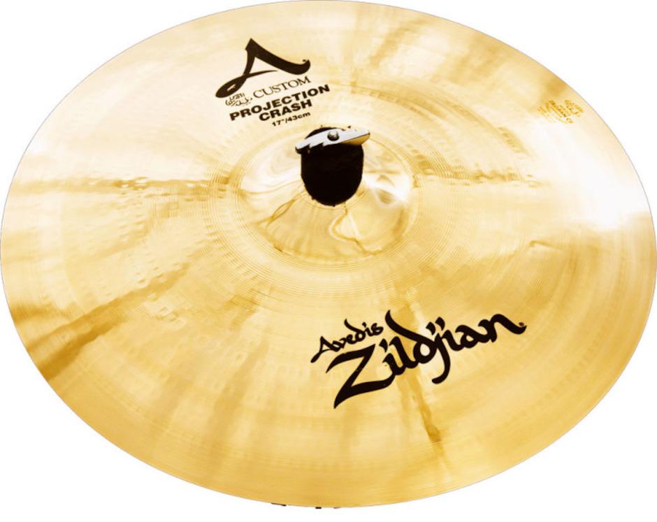 """Zildjian 17"""" A Custom Projection Crashbækken"""