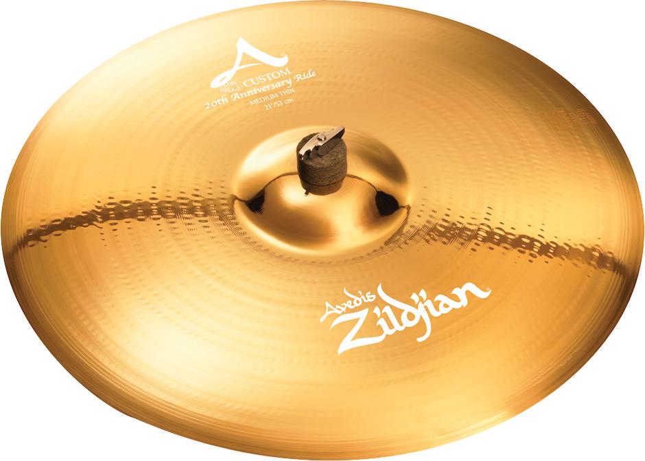 "Zildjian 21"" A Custom 20th Anniversary Ridebækken"