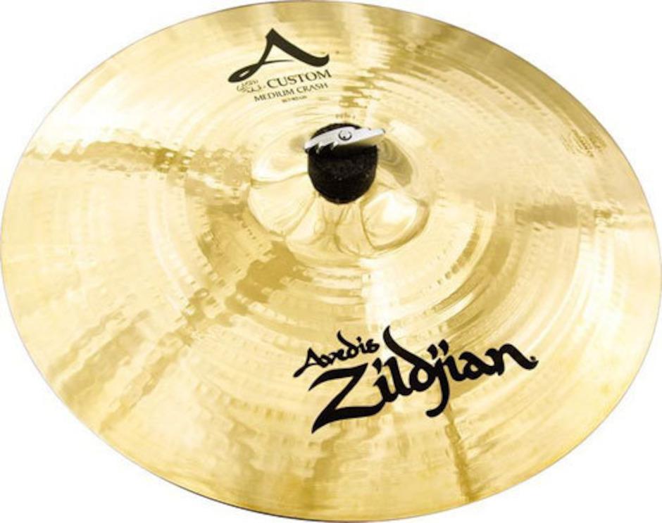 """Zildjian 17"""" A Custom Medium Crashbækken"""