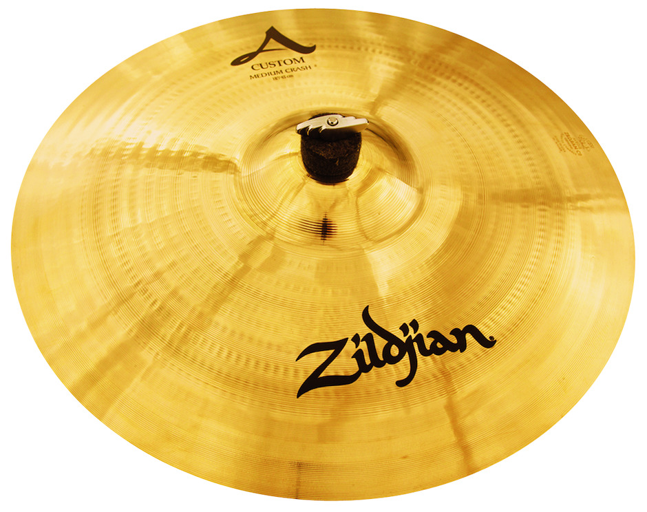 "Image of   Zildjian 18"" A Custom Medium Crashbækken"