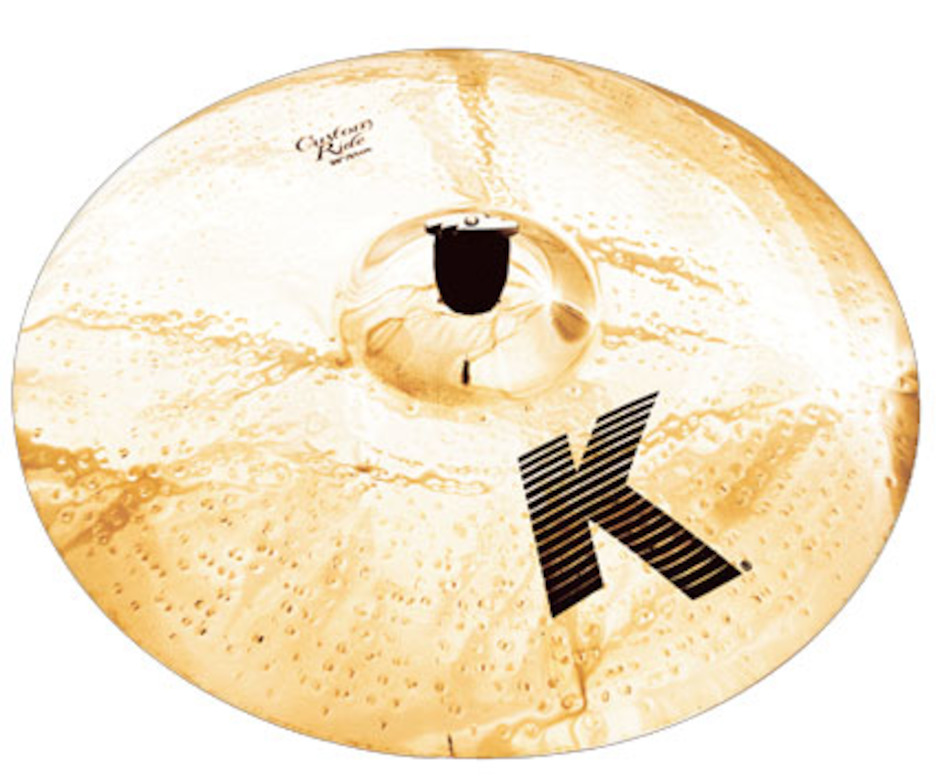 "Image of   Zildjian 20"" K Custom Brilliant Ridebækken"