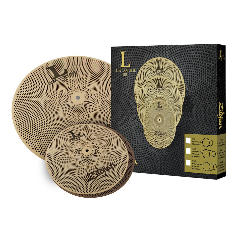 Zildjian LV38 Low Volume Cymbal Pack
