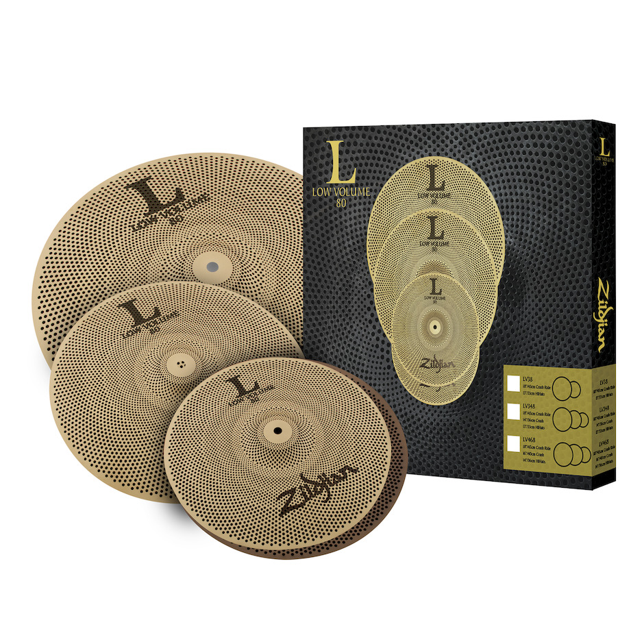 Image of   Zildjian LV348 Low Volume Cymbal Pack