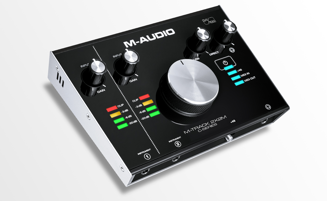 Image of   M-Audio M-TRACK 2X2M