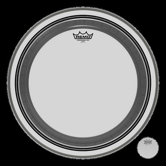 """Remo Trommeskind 20"""" Powerstroke Pro Clear"""