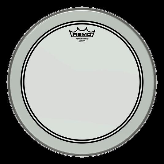 """Remo Trommeskind 18"""" Powerstroke 3 Clear"""