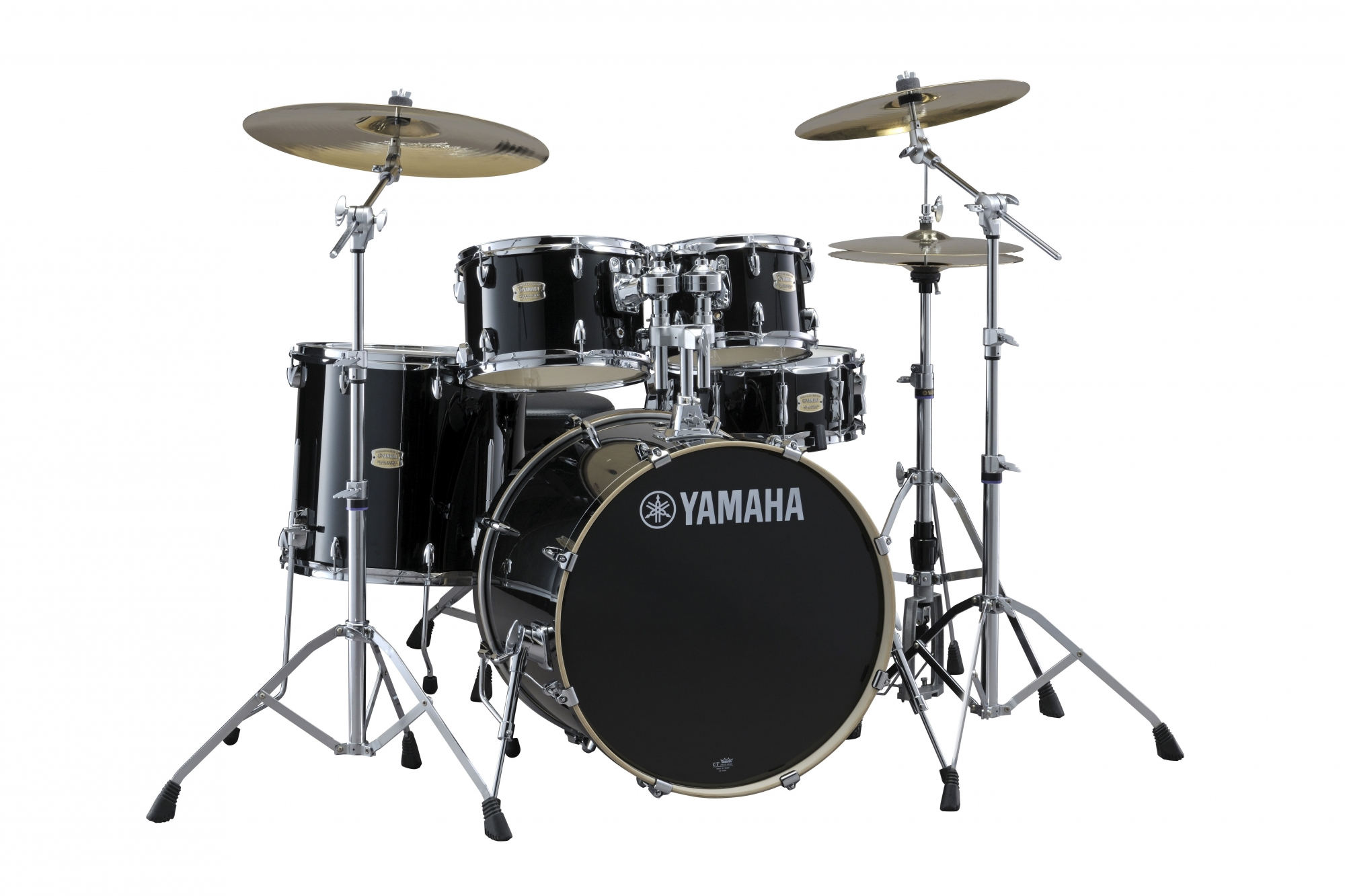 Yamaha Stage Custom Birch Studio Trommesæt Raven Black