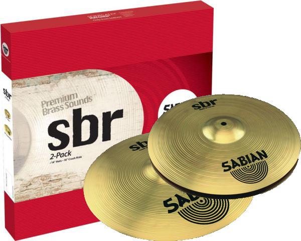 Sabian SBr 2-Pack Bækkenpakke