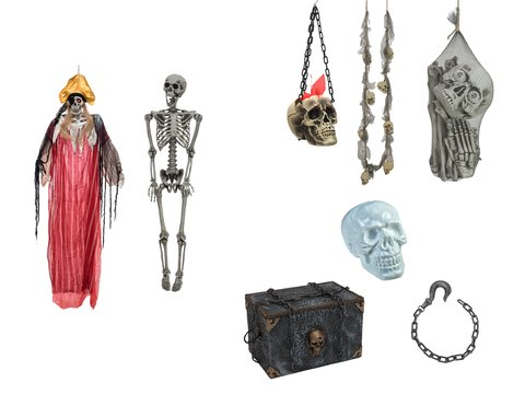 Europalms Set Halloween PIRATES