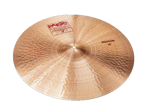 "Image of   Paiste 18"" 2002 Medium Crashbækken"