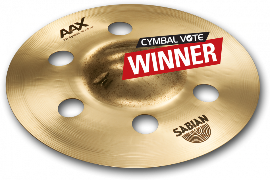 "Image of   Sabian 10"" AAX Air Splash"