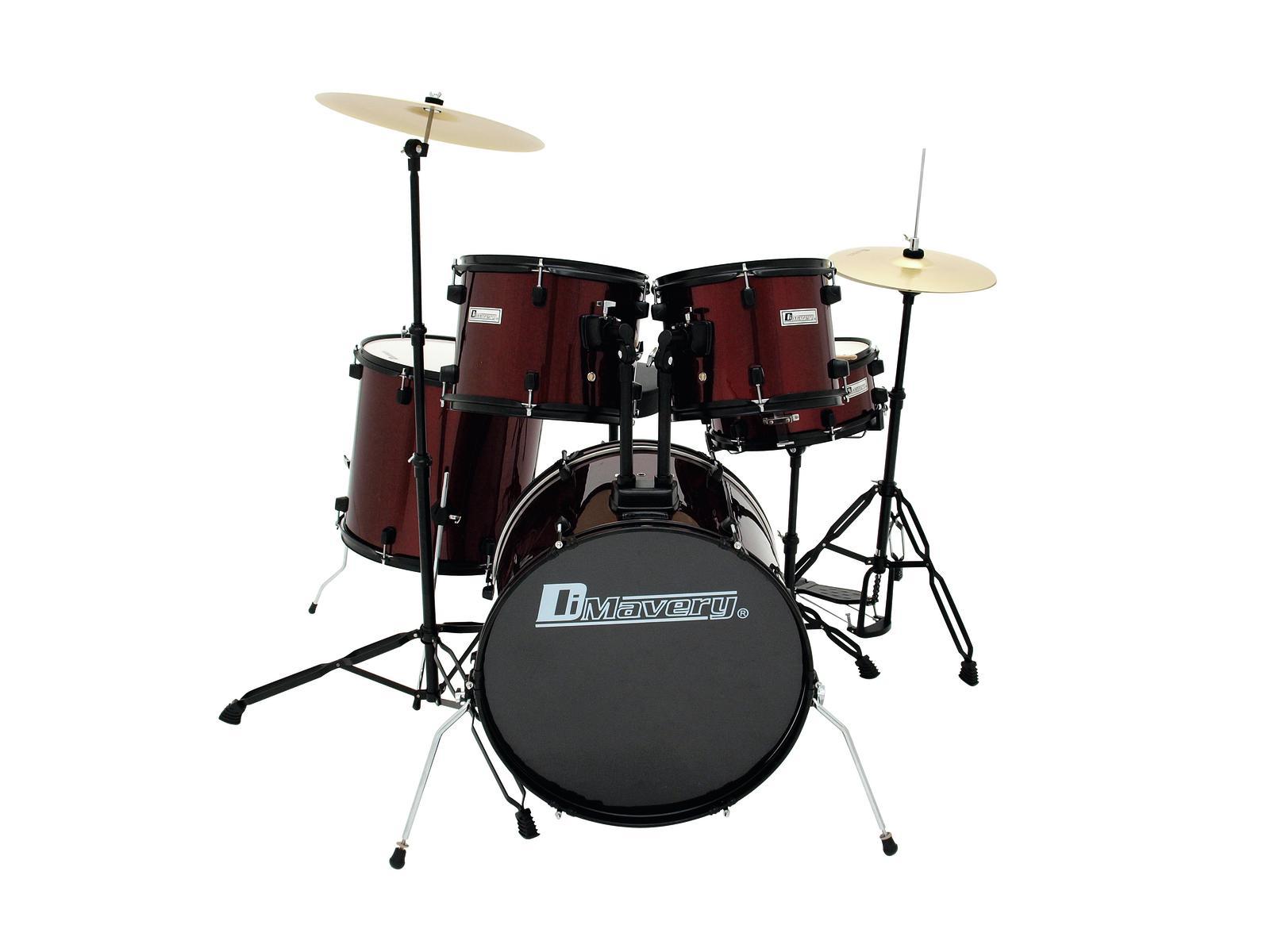 DiMavery DS-200 Trommesæt, Rød