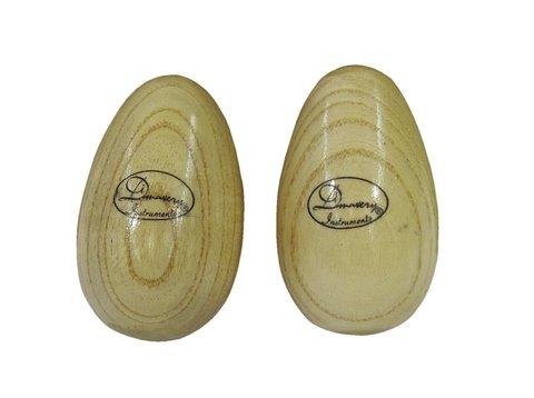 Image of   DiMavery Egg shaker Træ 2 stk