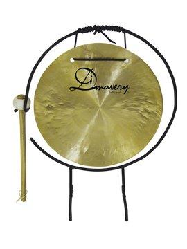 Image of   DiMavery Gong, 25cm med Stativ/kølle