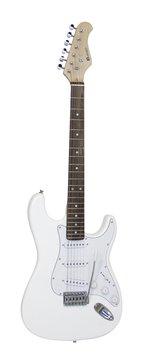 DiMavery ST-203 El-Guitar, Hvid