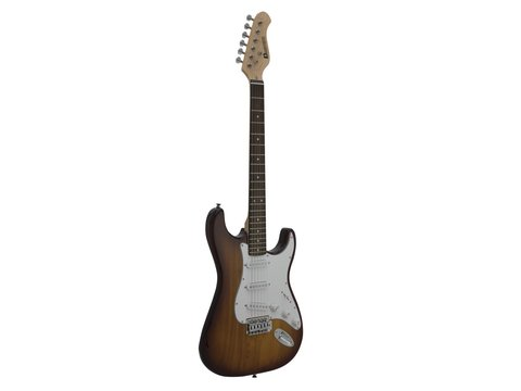 DiMavery ST-203 El-Guitar, Sunburst