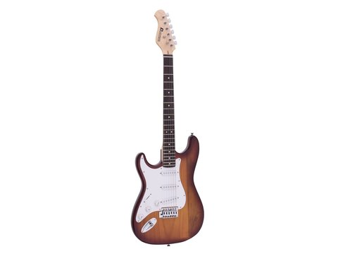 DiMavery ST-203 El-Guitar LH, Sunburst