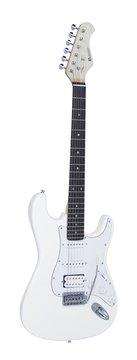 DiMavery ST-312 El-Guitar, Hvid
