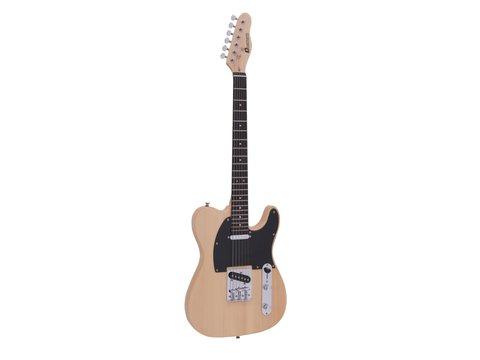 DiMavery TL-401 El-Guitar, Naturur