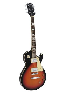 DiMavery LP-520 El-Guitar, Sunburst