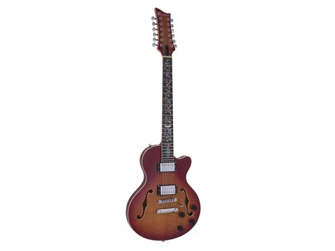 DiMavery LP-612 El-Guitar, Sunburst